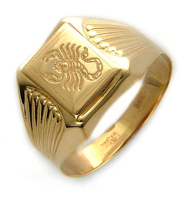фото мужские перстни золото